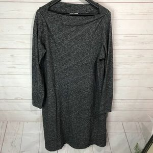 Eileen Fisher Dresses - Eileen Fisher   Bateau Neck Knit Shift Dress Sz xl